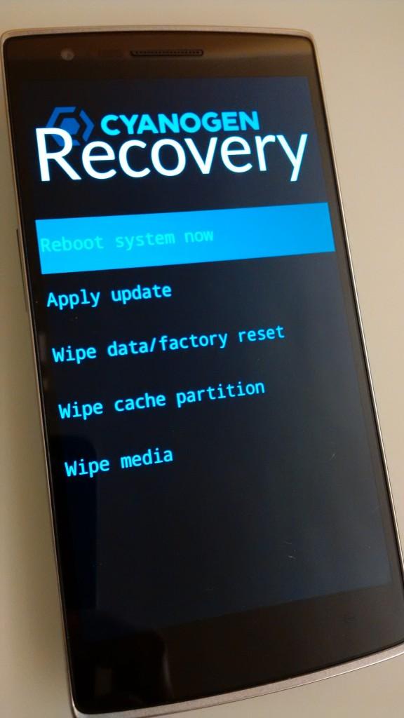 11. 最後一步,就是選擇 Reboot system now