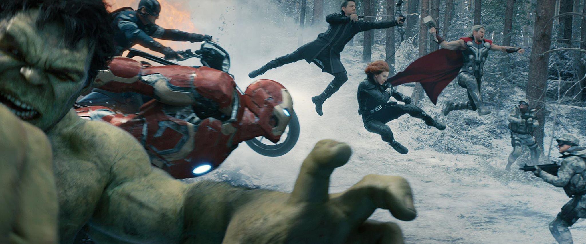 Avengers 攻擊 Hydra 一處位於 Sokovia 的秘密研究所