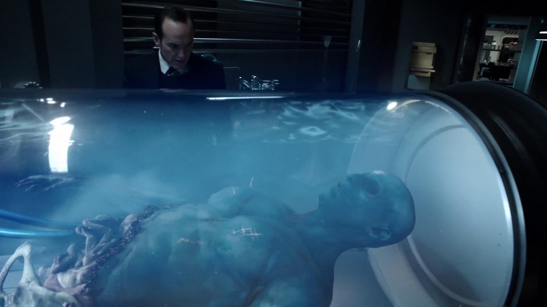 T.A.H.I.T.I. 計劃,利用死去的 Kree 外星人提煉而成的 G.H.325 把 Coulson 復活過來