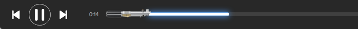 Spotify Star Wars Lightsaber